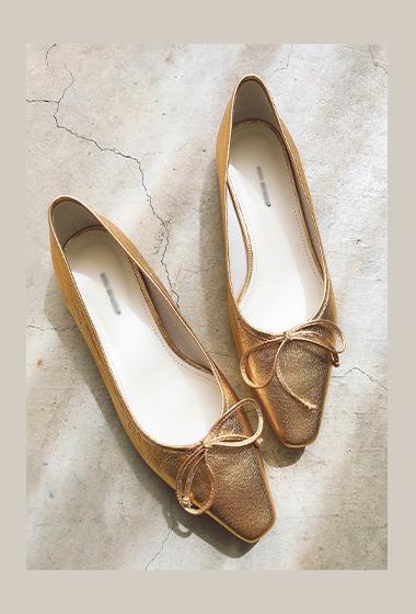 甜美佳人手工蝴蝶結綁帶平底鞋(手工鞋恕無到付,無退換貨)