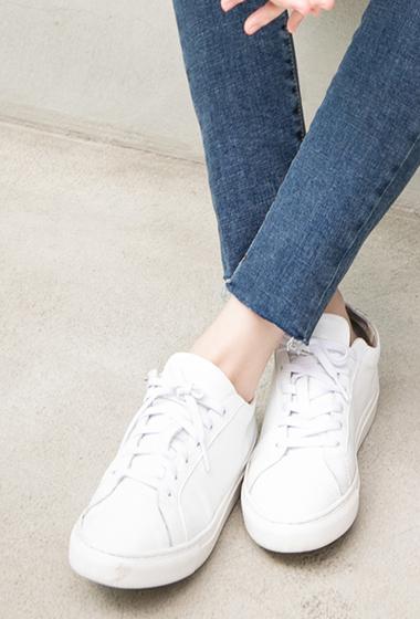 韓國小增高真皮休閒鞋(鞋子恕無到付)