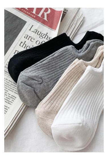 基本款舒適好穿短襪